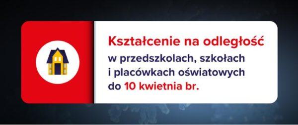 Zawieszenie zajęć do 10 kwietnia