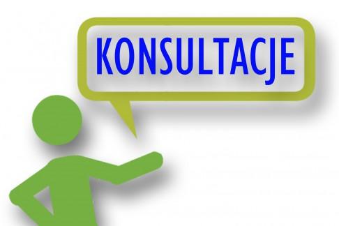 Informacja o konsultacjach