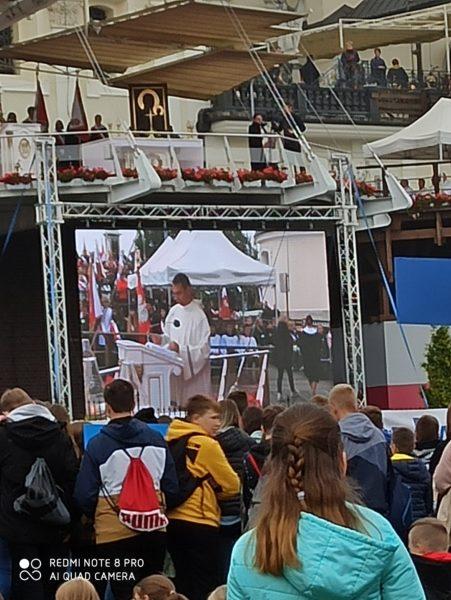 Wyjazd na XXI pielgrzymkę szkół im. Jana Pawła II  do Częstochowy